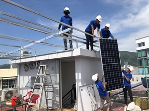 PC Bình Định khuyến khích khách hàng lắp đặt điện mặt trời mái nhà