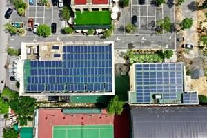 Điện mặt trời trên mái nhà - Giải pháp tiết kiệm điện hiệu quả, ích nước, lợi nhà