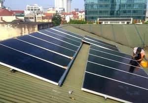Trường học đầu tiên ở Hà Nội lắp điện mặt trời