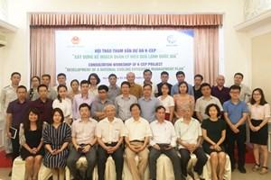 Hội thảo tham vấn dự án xây dựng kế hoạch quản lý hiệu quả lạnh quốc gia