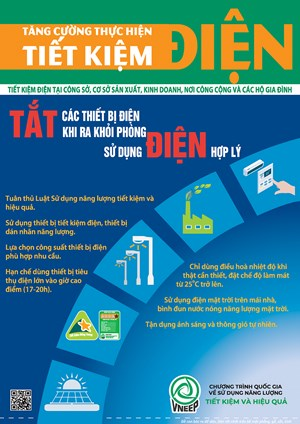 Nhiều chính sách khuyến khích sử dụng năng lượng tiết kiệm, hiệu quả