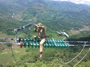 Ứng dụng chống sét van trên đường dây compact 110kV tại Việt Nam