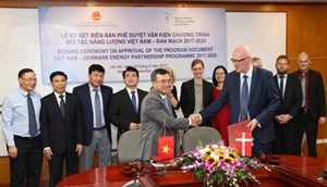 Kết quả Chương trình Hợp tác Đối tác Năng lượng Việt Nam – Đan Mạch (DEPP)