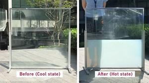 Cửa sổ chứa chất lỏng hấp thụ nhiệt mặt trời vào ban ngày, giải phóng vào ban đêm