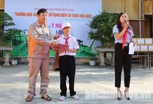 Bắc Ninh đa dạng hình thức tuyên truyền tiết kiệm điện trong trường học