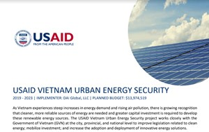 USAID looks for project developers and enterprises providing advanced, distributed energy solutions