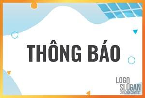 Thông báo về Lễ trao giải Cuộc thi sáng tác logo và slogan tiết kiệm điện