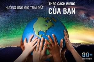 """Lào Cai hưởng ứng Chiến dịch """"Giờ trái đất"""" năm 2021"""