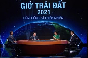 Tọa đàm VTV1: Giờ Trái đất - Lên tiếng vì thiên nhiên