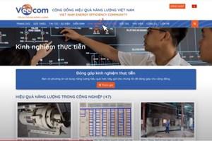 Ra mắt website Cộng đồng hiệu quả năng lượng VEECOM