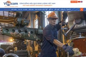 Khai trương website Cộng đồng hiệu quả năng lượng Việt Nam (VEECOM)