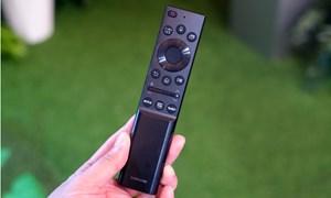 Điều khiển TV Samsung dùng năng lượng mặt trời